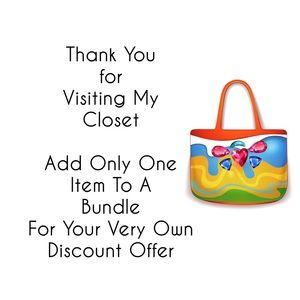 Bags - Tropical Hibiscus Print Beach Bag / Tote